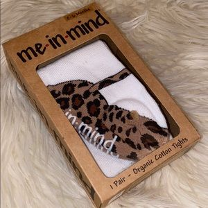 🔥 3/$15 🔥 Leopard Mary Jane Footed Tights